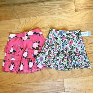 NWT Carter's Scooter Skirt Bundle